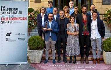 IX Premio San Sebastian-Gipuzkoa film Commission para la película 'O que arde'