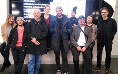 Productoras alemanas visitan Gipuzkoa para conocer las posibilidades de rodaje en el territorio