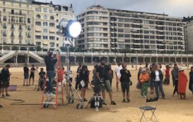 San Sebastián se convierte de nuevo en escenario de rodaje para un spot de publicidad